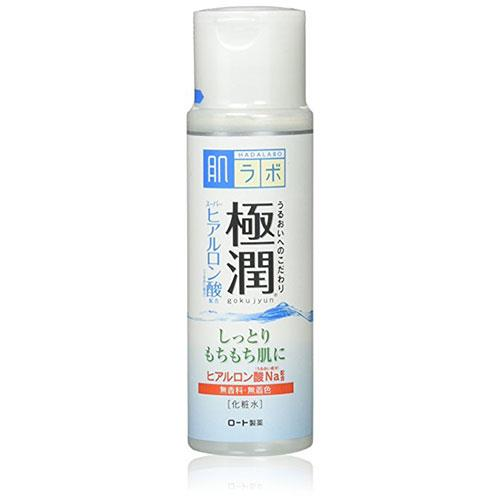 "**Hada Labo Goku-jyun Clear Lotion, $11.59 at [Amazon](https://www.amazon.com/Hada-Labo-Hadalabo-Gokujun-Hyaluronic/dp/B00BSNBO9O|target=""_blank"")** <br> This ultra-moisturising lotion has reached cult-status, thanks to glowing reviews on Amazon and Reddit. It's packed full of hyaluronic acid and is as light as can be."