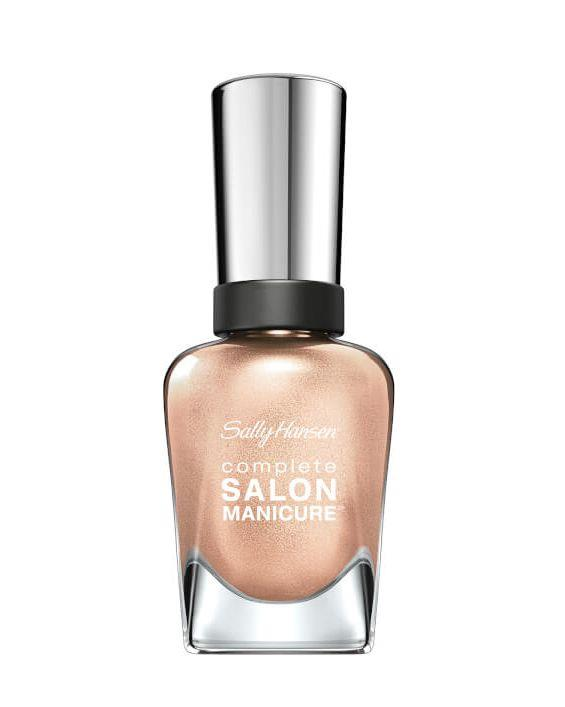 "Sally Hansen Nail Varnish in You Glow Girl!, $12.49 at [Chemist Warehouse](https://www.chemistwarehouse.com.au/buy/79055/Sally-Hansen-Complete-Salon-Manicure-You-Glow-Girl-14-7ml|target=""_blank""