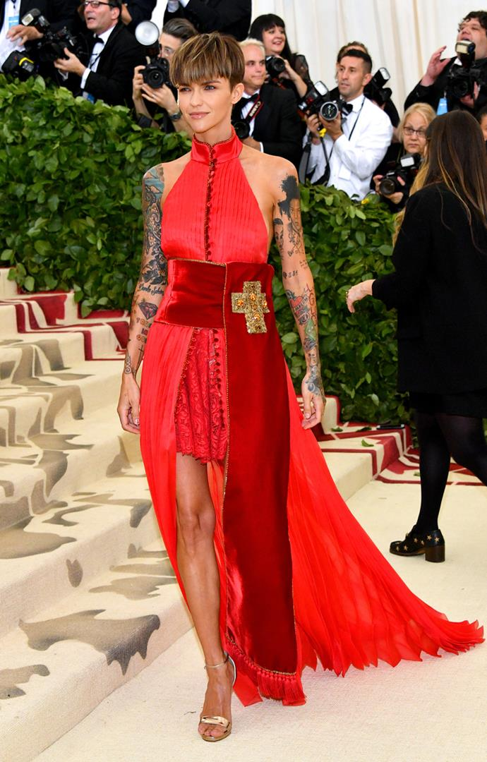 Ruby Rose in Tommy Hilfiger