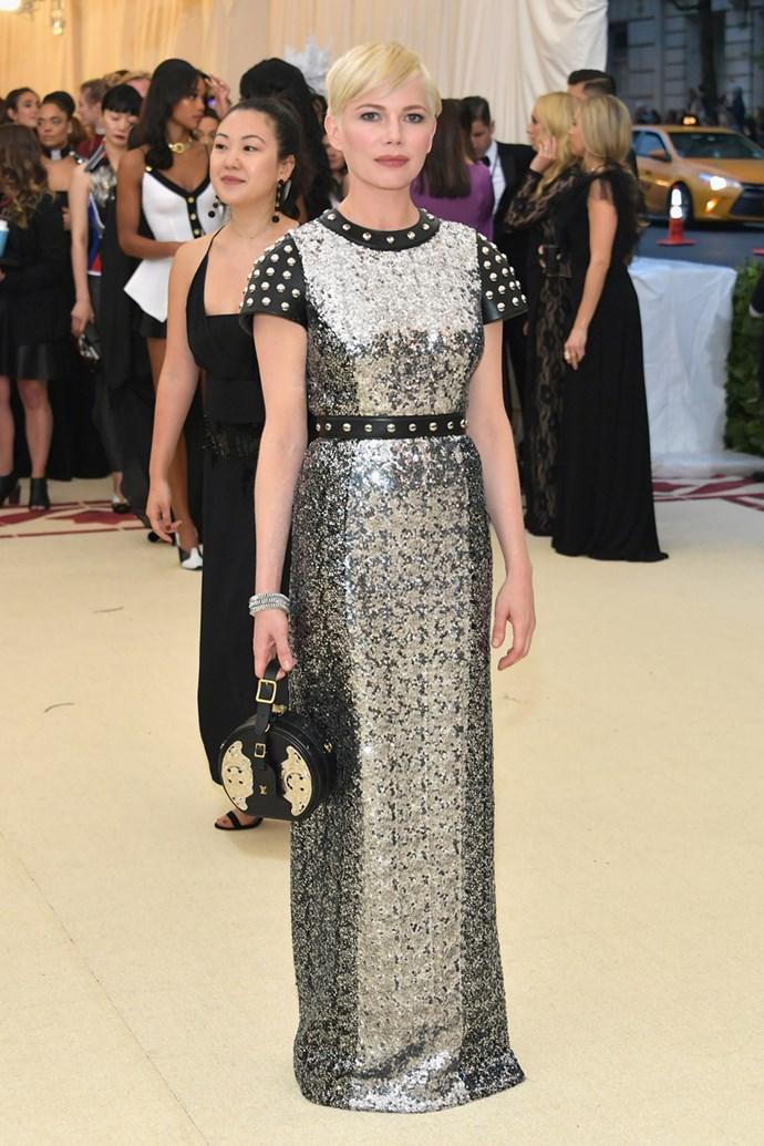 Michelle Williams in Louis Vuitton
