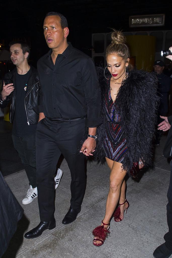 Alex Rodriguez and Jennifer Lopez   Image: Getty