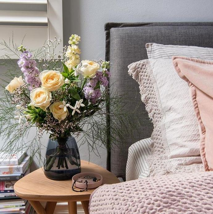 "**Three month flower subscription, $165 at [Gift Flick](https://www.giftflick.com.au/product/a-three-month-flower-subscription-1-delivery-every-month|target=""_blank"").** <br><bR> Gift Flick is perfect for last minute gifts. First, visit the site, select and pay for your gift. Then the recipient (in this case, your mum) gets a text notifying them of the present, with a personalised message from you. Cute, right?"