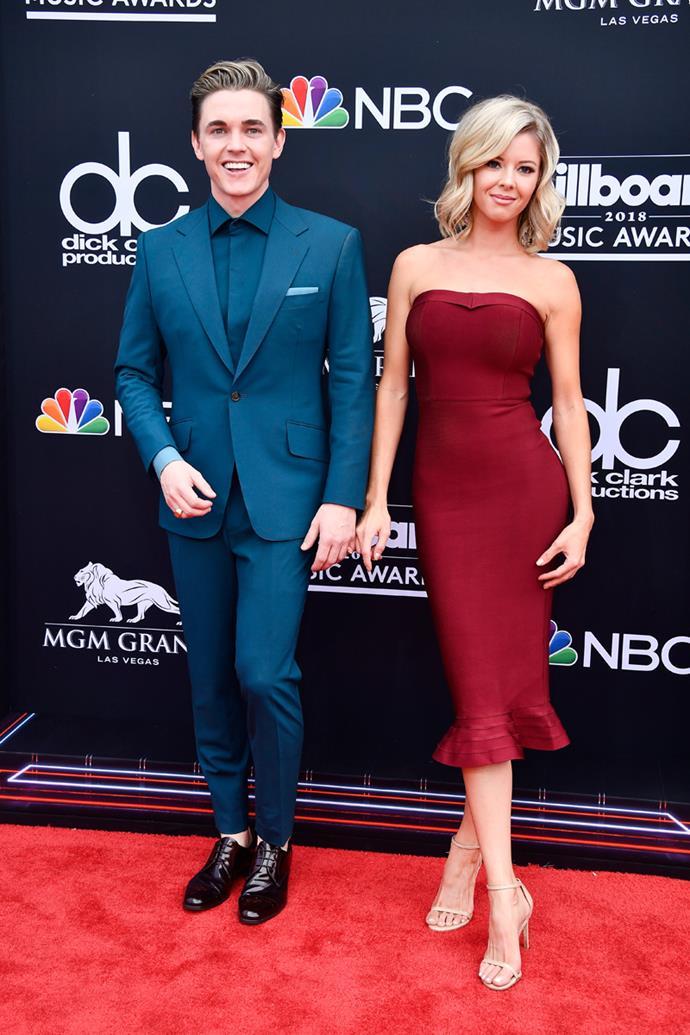 Jesse McCartney at the 2018 Billboard Awards.