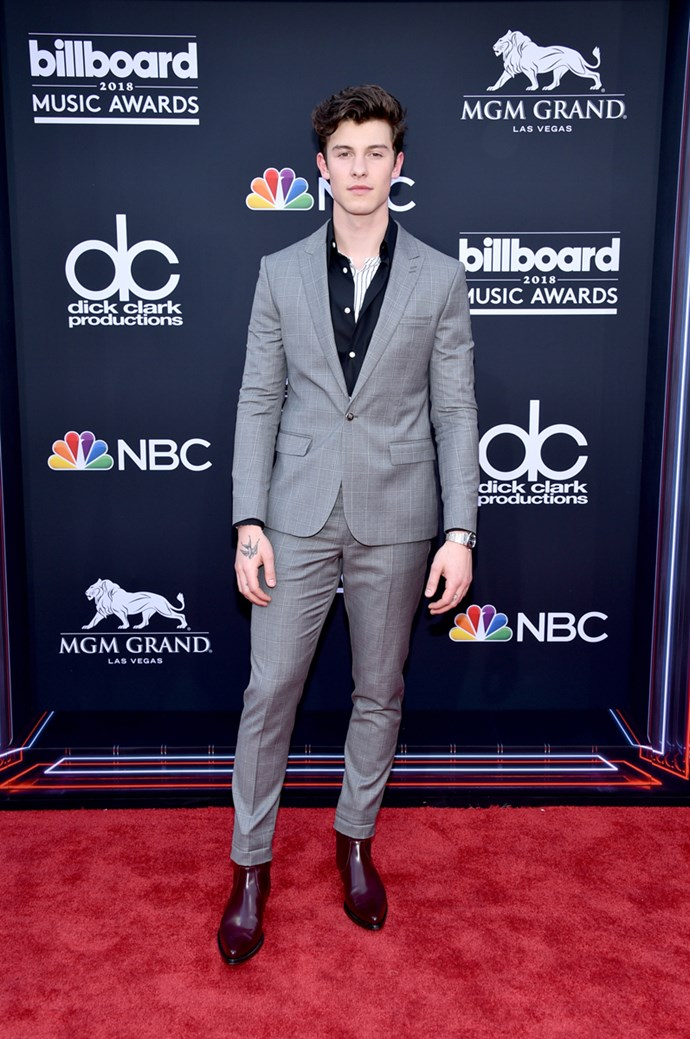 Shawn Mendes at the 2018 Billboard Awards.