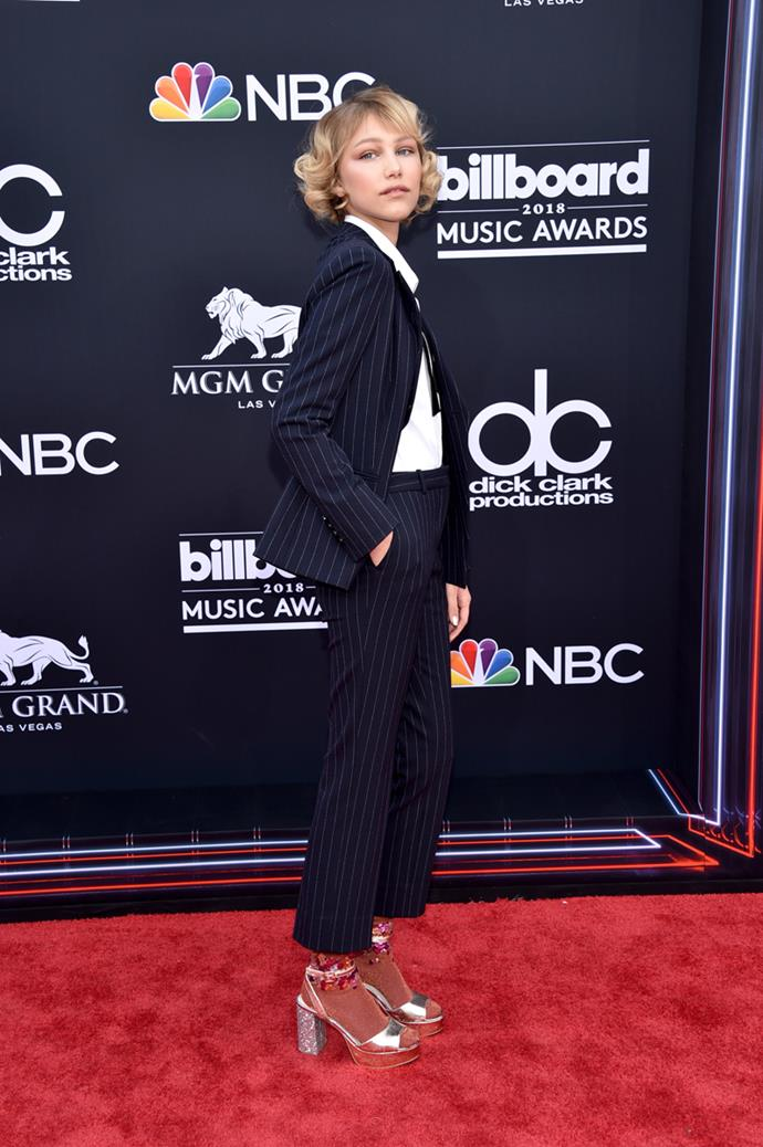 Grace VanderWaal at the 2018 Billboard Music Awards.
