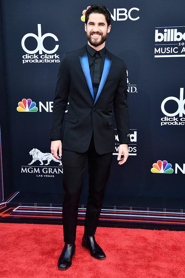 Darren Criss at the 2018 Billboard Awards.
