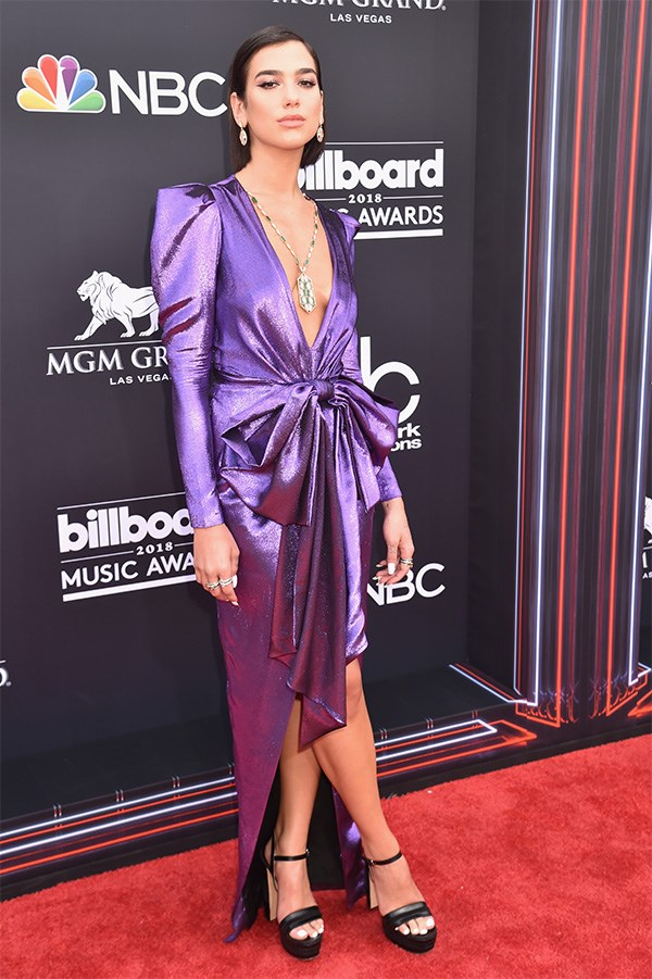 Dua Lipa at the 2018 Billboard Awards.