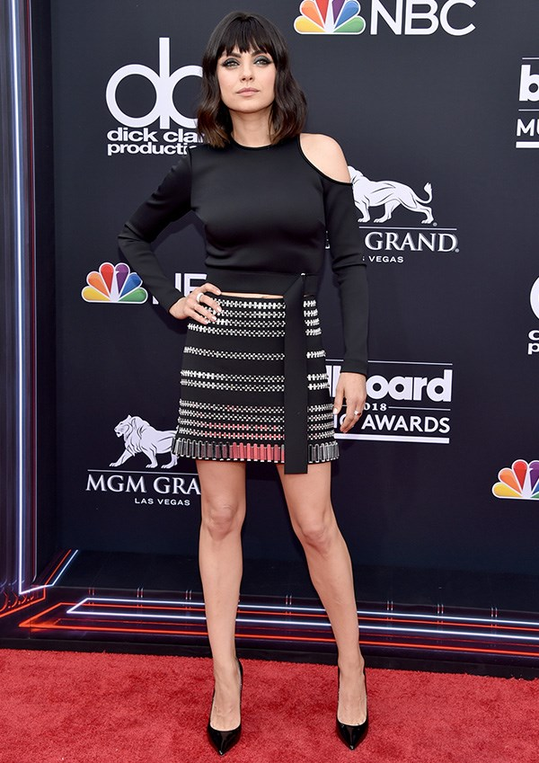 Mila Kunis at the 2018 Billboard Music Awards.