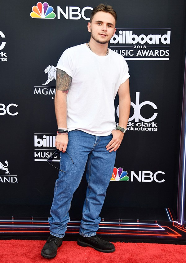 Prince Jackson at the 2018 Billboard Music Awards.