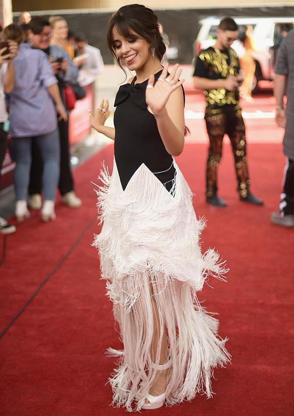Camilla Cabello at the 2018 Billboard Music Awards.