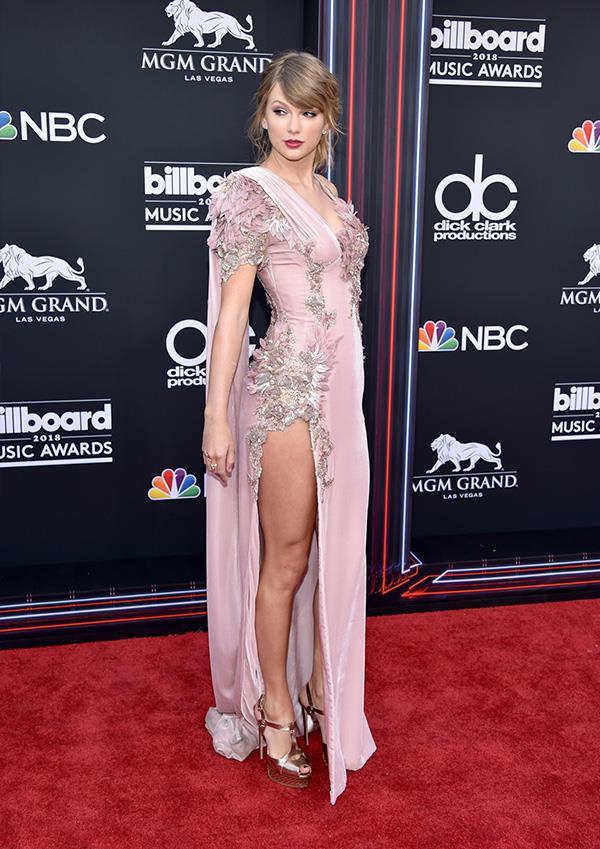 Taylor Swift at the 2018 Billboard Music Awards.