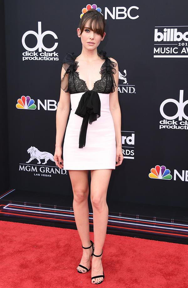 Alison Brie at the 2018 Billboard Music Awards.