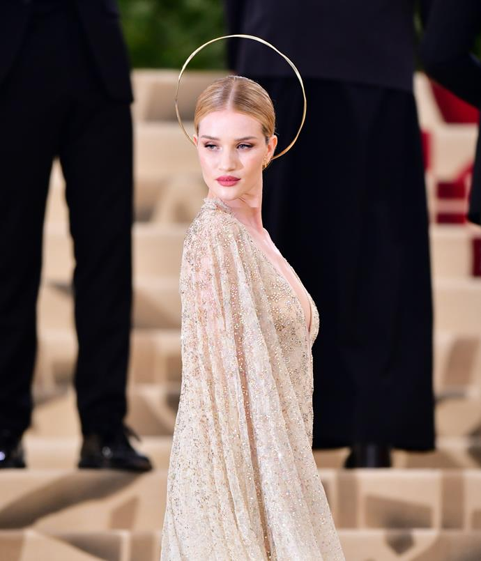 Huntington-Whiteley at the Met Gala in May 2018.