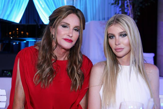 Caitlyn Jenner and Sophia Hutchins attend the LIFE+ Solidarity Gala in Vienna, Austria.