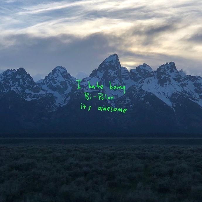 Kanye West's 'Ye' Album Cover.
