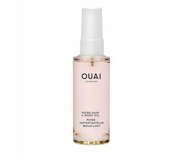 """**The Hair and Skin Pick-Me-Up** <br><br> This fast-absorbing oil will repair damage and restore moisture on your hair and skin. It also smells incredibly dreamy. <br><br> Ouai Rose Hair & Body Oil, $50, at [Sephora](https://www.sephora.com.au/products/ouai-rose-hair-and-body-oil/v/100ml target=""""_blank"""")."""
