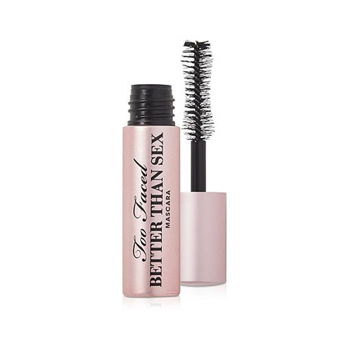 "**Too Faced Better Than Sex Mascara, $33 at [MECCA](https://www.mecca.com.au/too-faced/better-than-sex-mascara/V-016521.html|target=""_blank""