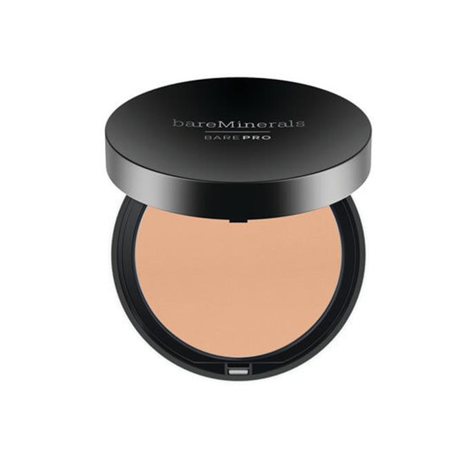 "**Bare Minerals BarePro Performance Wear Powder Foundation, $44 at [MECCA](https://www.mecca.com.au/bareminerals/barepro-performance-wear-powder-foundation/V-026908.html|target=""_blank""