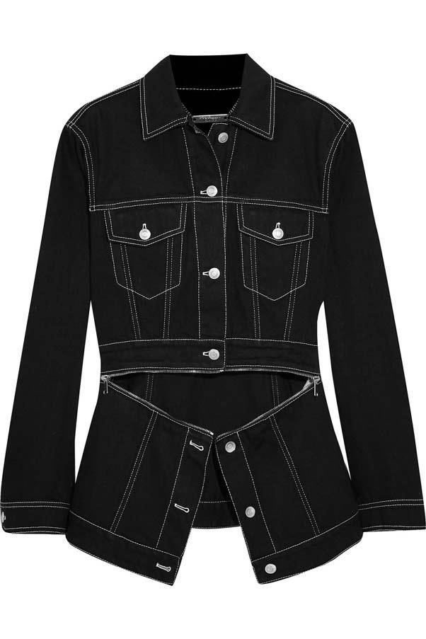 "**Buy**: Jacket by Alexander McQueen, $1,007 at [Net-a-Porter](https://www.net-a-porter.com/au/en/product/1008275/alexander_mcqueen/zip-detailed-denim-jacket|target=""_blank""|rel=""nofollow"")"