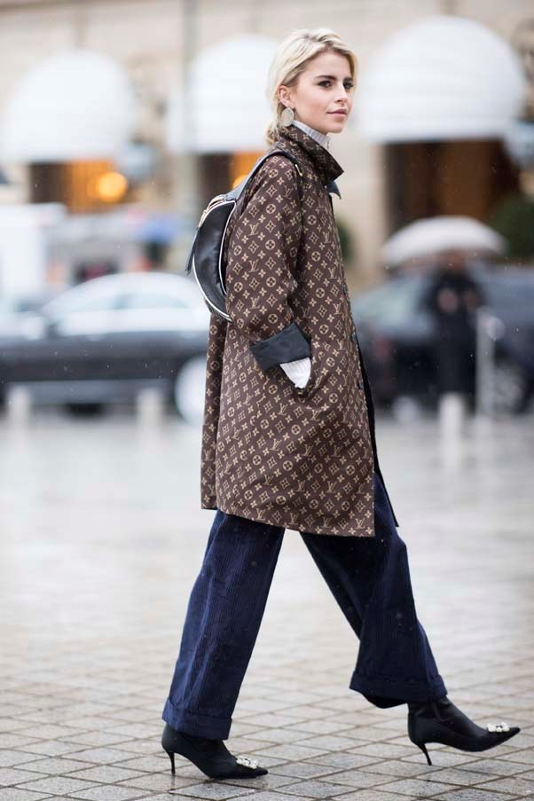 **The statement raincoat** <br><br> Australian winters can include stretches of 2-3 days where the weather is so mild a big coat feels like overkill. Cue: The raincoat. This season designers from Louis Vuitton and Fendi to Vetements (we love their horoscope styles) are offering on-point iterations.