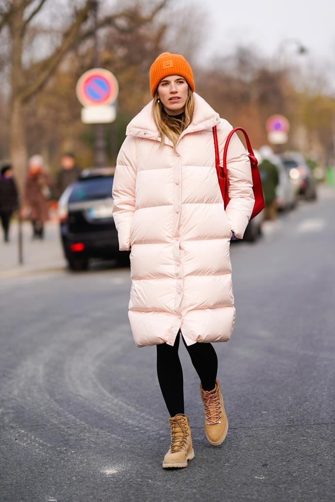 **The puffa coat** <br><br> 'Tis the season to invest in a puffa coat. They're one of the few recent trends to straddle the line between functionality and style — and there are iterations available for every price point (think anywhere from Uniqlo to Balenciaga).