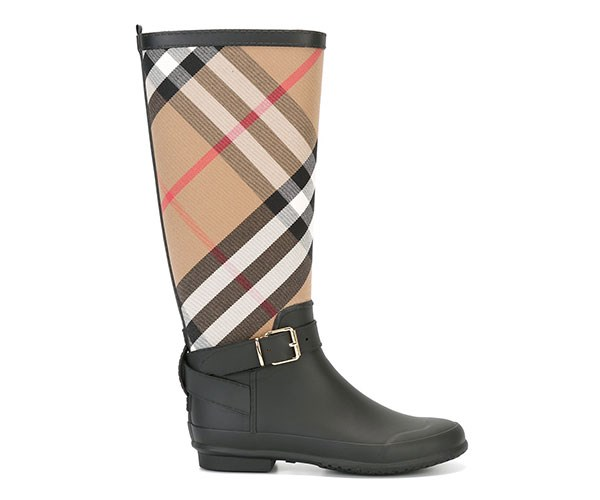 "Burberry Rain Boots, $620, at [Burberry](https://au.burberry.com/belt-detail-checkrubber-rain-boots-p40383511|target=""_blank"")."