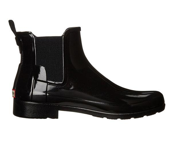 Hunter Rain Boots, $195, at [Shopbop](https://www.shopbop.com/original-refined-chelsea-booties-hunter/vp/v=1/1571056890.htm).