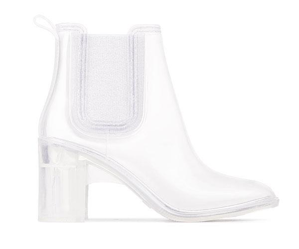 "Jeffrey Campbell Rain Boots, $80, at [Shopbop](https://www.shopbop.com/hurricane-rain-booties-jeffrey-campbell/vp/v=1/1525351687.htm?folderID=13490&fm=other-shopbysize-viewall&os=false&colorId=11456|target=""_blank"")."