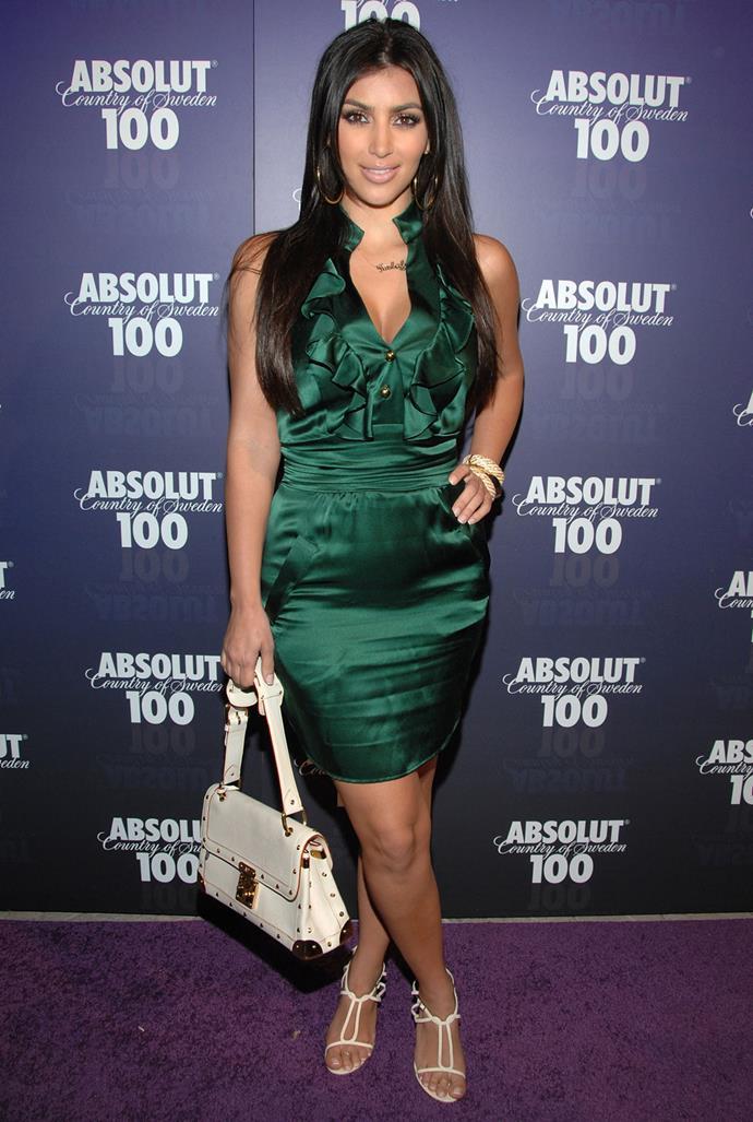 Kim Kardashian Pre-Kanye in 2008.