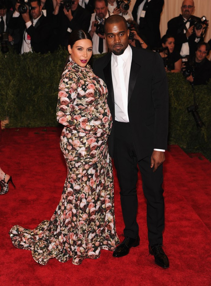 Kim Kardashian in Givenchy at the 2014 Met Gala.