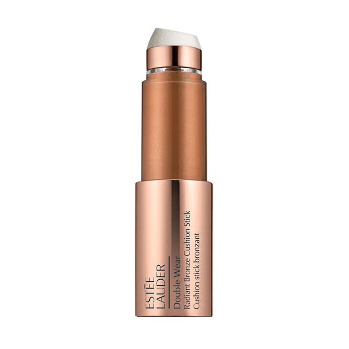 "Estée Lauder Double Wear Radiant Bronze Cushion Stick, $58 at [Myer](https://www.myer.com.au/shop/mystore/2667745?gclid=CjwKCAjw9qfZBRA5EiwAiq0AbUEo833oo4cgE26rA1hjB75BpgzeKSbOfr8oN59QOR4eOdAONrL4bRoCChoQAvD_BwE&dclid=CIel1rOQ5NsCFUsxKgod1NcMxA|target=""_blank""