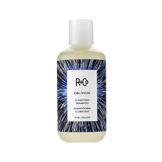 "R+Co Oblivion Clarifying Shampoo, $36 at [Adore Beauty](https://www.adorebeauty.com.au/r-and-co/r-co-oblivion-clarifying-shampoo.html|target=""_blank""