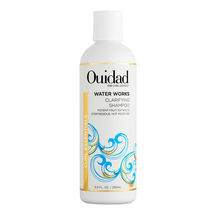 "Ouidad Water Works Clarifying Shampoo, $26 at [Nordstrom](https://shop.nordstrom.com/s/ouidad-water-works-clarifying-shampoo/4749430|target=""_blank""