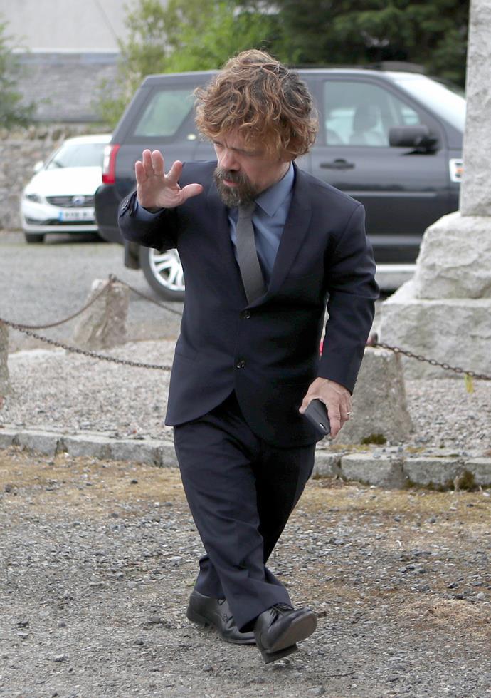 Peter Dinklage (Tyrion Lannister).