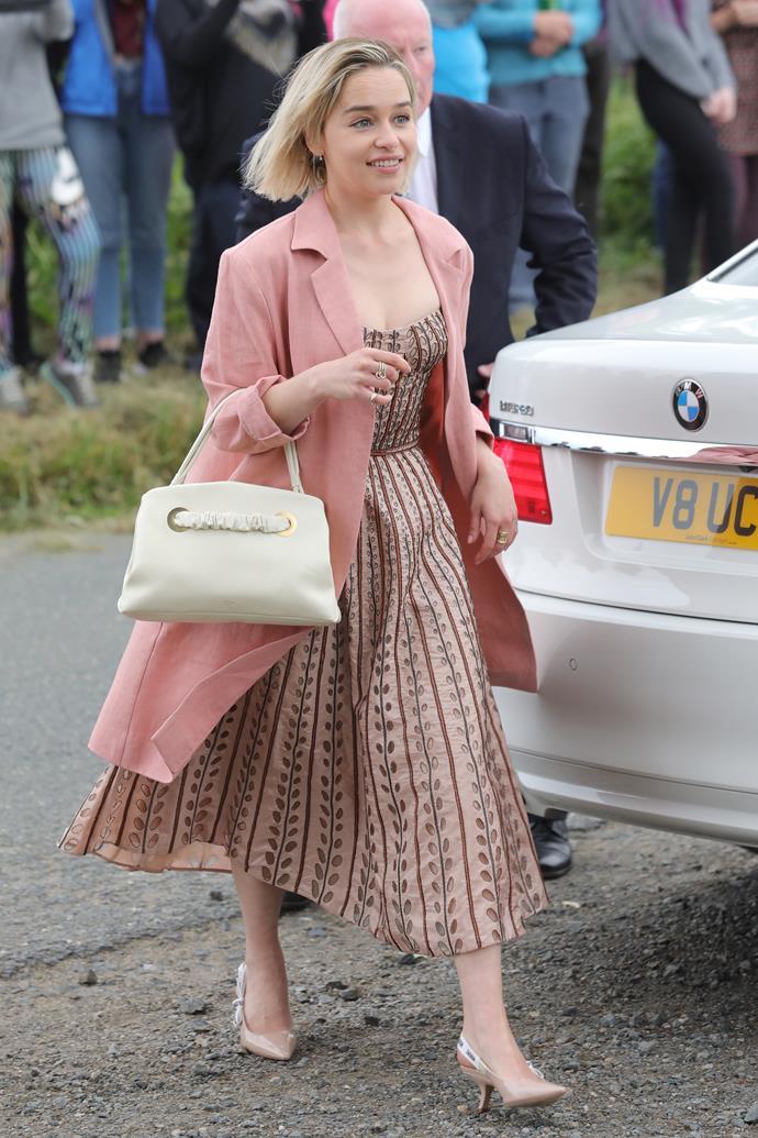 Emilia Clarke (Daenerys Targaryen).