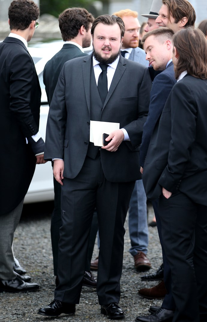 John Bradley (Samwell Tarly).