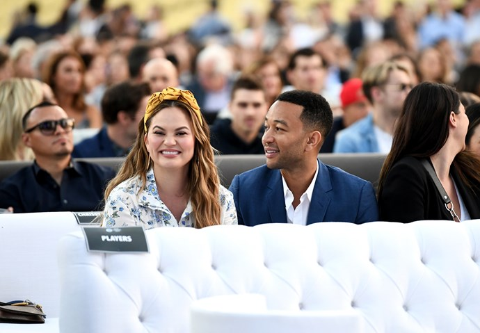 Poking fun at her husband is what keeps Chrissy Teigen young.