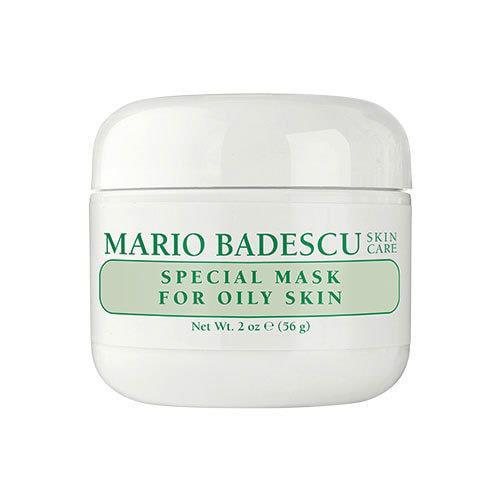 "For clear skin. <br><br> Mario Badescu Special Mask For Oily Skin, $34, at [Beauty bay](https://www.beautybay.com/skincare/mariobadescu/specialmaskforoilyskin/?ctyid=au&gclid=Cj0KCQjwpcLZBRCnARIsAMPBgF2b84TBz2Wvsyy531eMC6K17P4qmmLM4Q2nrBEuBzGuQrkU0jIhBIoaAmD4EALw_wcB|target=""_blank"")."