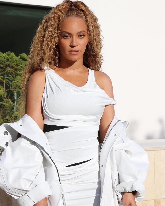 Beyonce   Image: Instagram