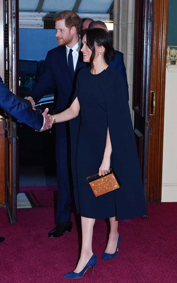 In Stella McCartney at Queen Elizabeth II's birthday party, April 2018.