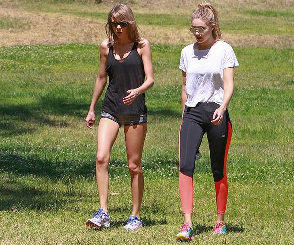 Taylor Swift and Gigi Hadid combine their social catch-ups with outdoor hikes to get their heart rates up.