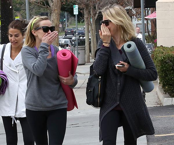 Reese Witherspoon and Naomi Watts like to get together on yoga mats and discuss their multiple Oscar nominations.