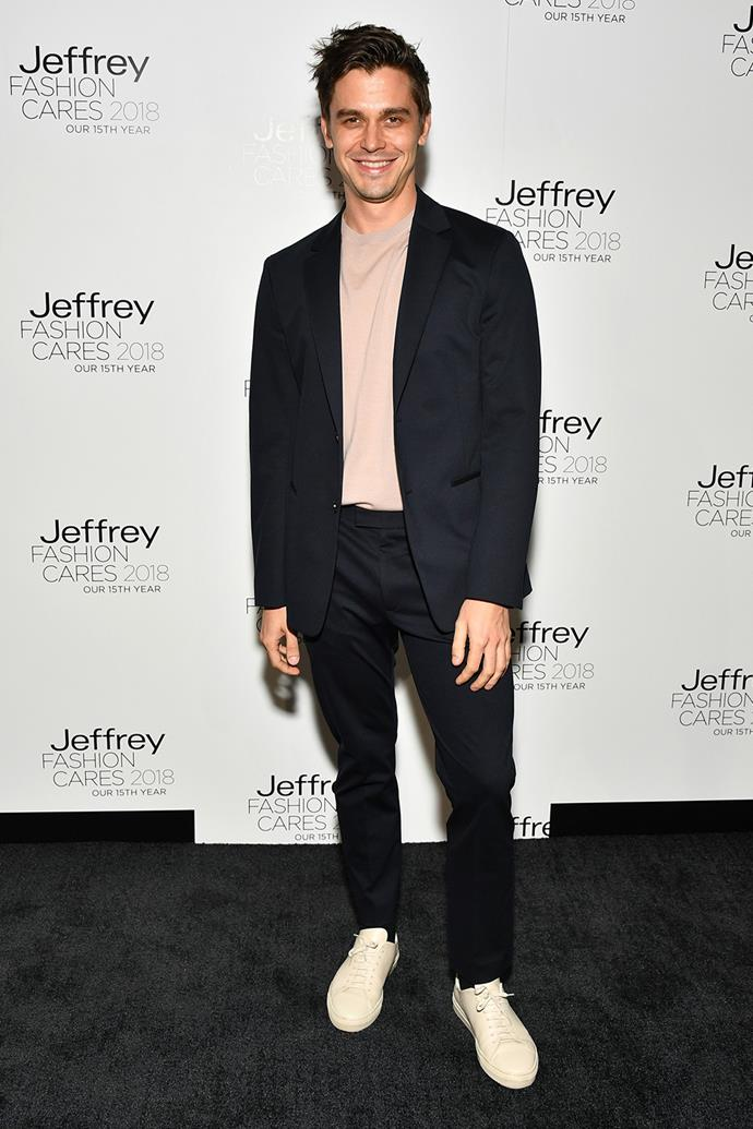 At Jeffrey Fashion Cares Foundation Show and Fundraiser in New York City in April, 2018