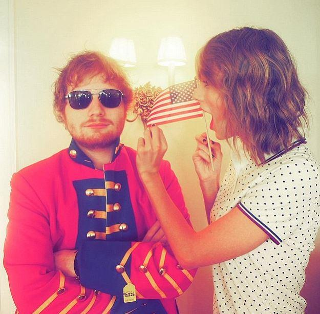 2015: Swift's tour buddy and bestie Ed Sheeran was also there, as were the Haim sisters and Serayah.