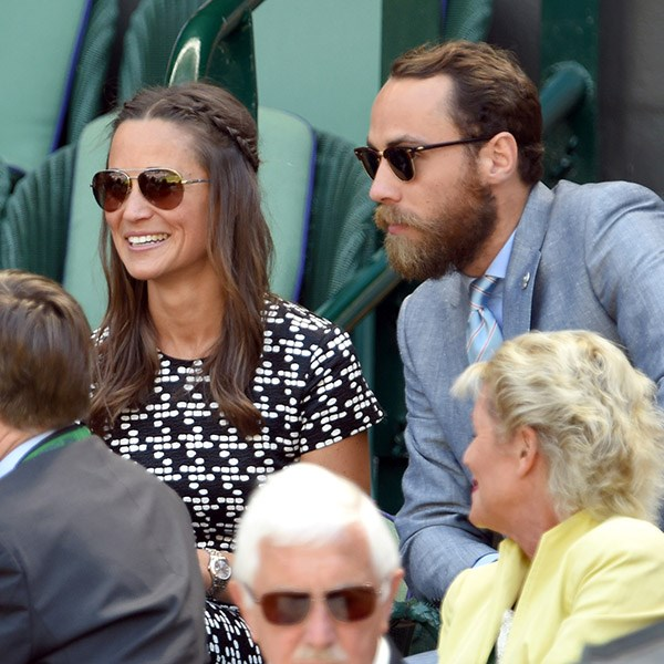 He attends Wimbledon pretty much every year with his older sister, Pippa.