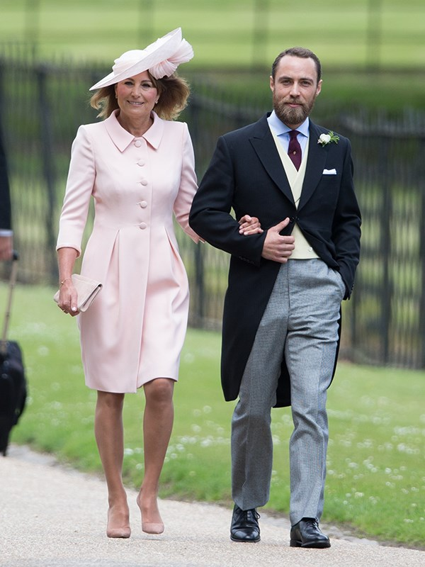 He loves his mother, and looks particularly adorable in photos with her (pictured here at Pippa Middleton's wedding last year).