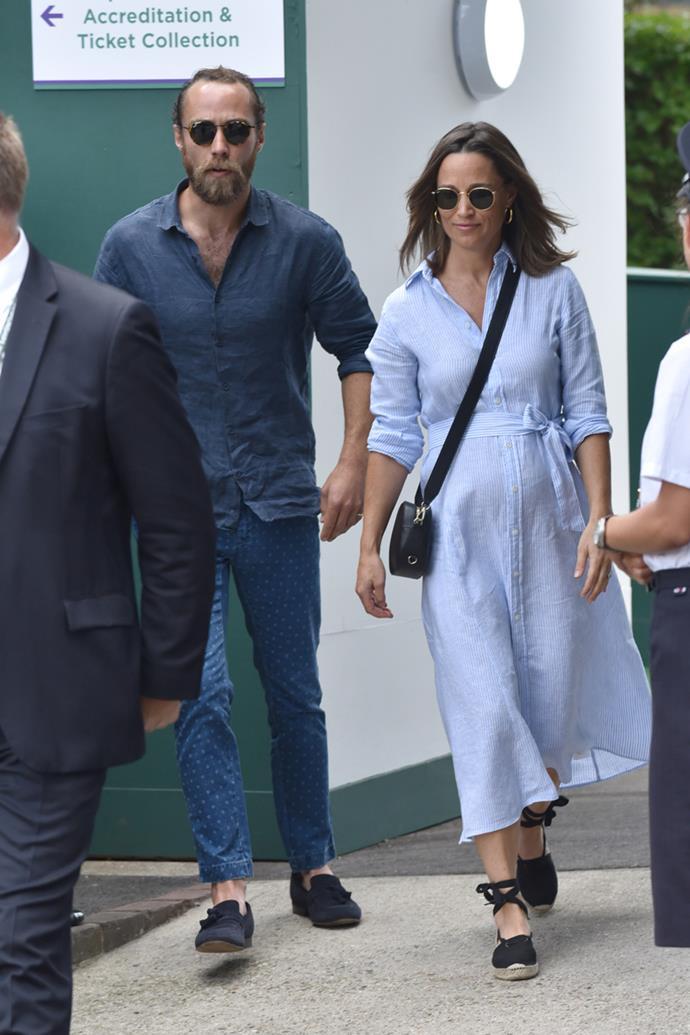 Pippa Middleton and James Middleton