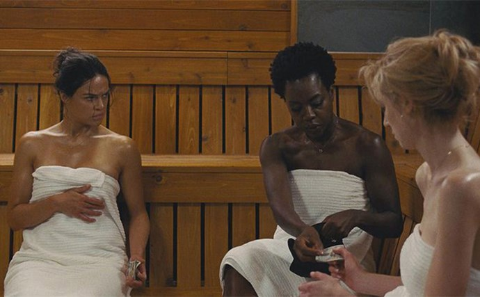 **5.*Widows*** <br><br> Based on the 1983 ITV series of the same name, Steve McQueen's Widows is set in present-day Chicago in which four women, whose dead husbands' criminal activities have left them in crippling debt, band together in order to secure their own fates. <br><br> Written by *Gone Girl's* Gillian Flynn, the film features an all-star cast including Viola Davis, Michelle Rodriguez and Elizabeth Debicki. Now that's some kick-ass female casting. Oh, Colin Farrell and Daniel Kaluuya also make appearances, just to let you know. <br><br> **Release Date: 29 November 2018** <br><br> *Image via: 20th Century Fox*