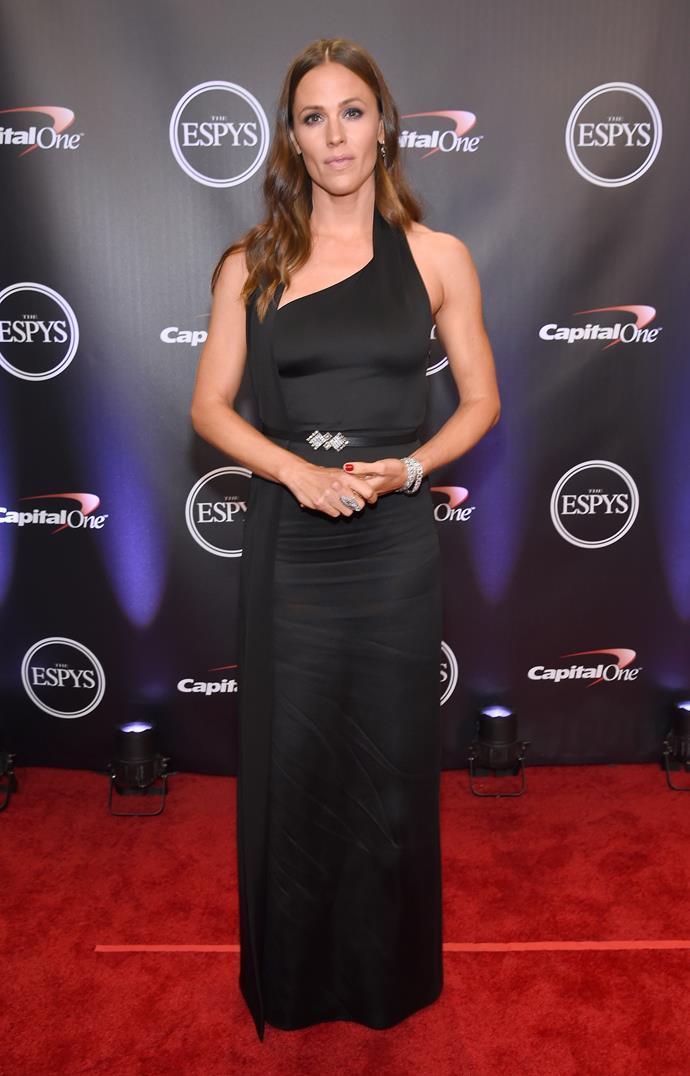 Jennifer Garner in Lanvin.