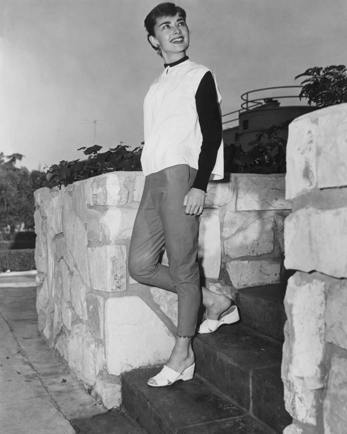 Audrey Hepburn, 1955